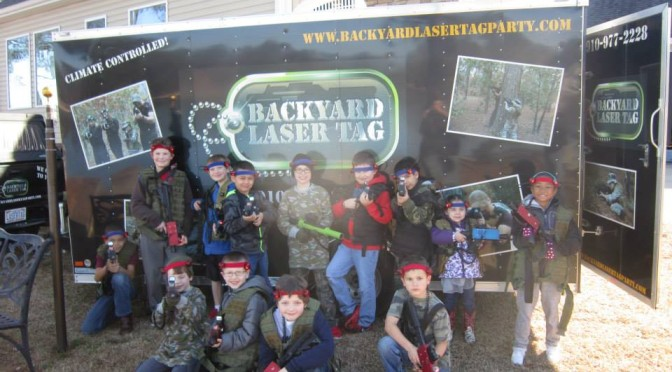Backyard Laser Tag U2013 North Carolinau0027s Ultimate Birthday Party Comes To You!