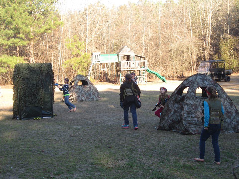 Backyard Laser Tag Party!
