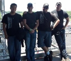 Ben, Edward Gainer (Owner), Kevin and Dalton