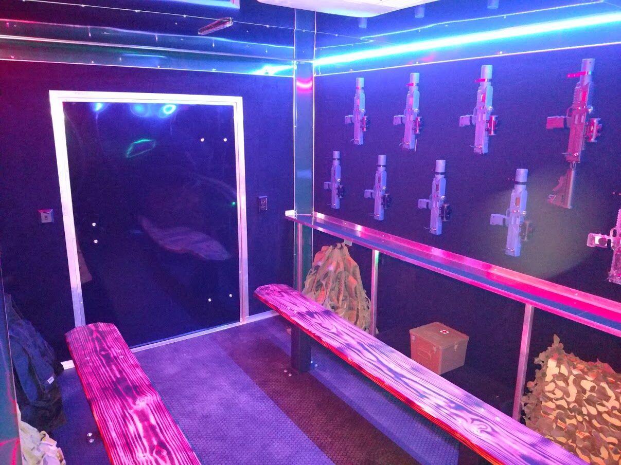 Laser Tag birthday party in Pinehurst, Fayetteville, Moore County, Lee County, Montgomery County NC